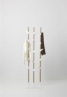 Bamboo Kapstok coat rack. Hmmm, maybe a good inspiration for the new house.