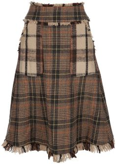 Tory Burch Tartan Skirt