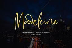 DLOLLEYS HELP: Madeleine Free Font