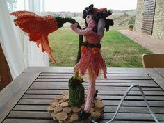 Abatjour fata dei fiori, by Il sogno nel cassetto, 32,00 € su misshobby.com