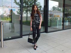 Fashion Love: BIKER PANTS, GHILLIE FLATS & GRUNGE SHIRT