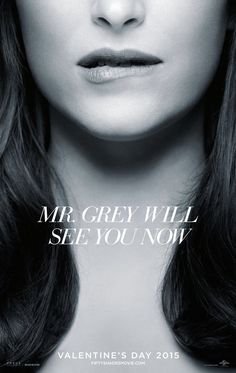 Dakota Johnson Bites Her Lip in Seductive New Fifty Shades of Grey Teaser Poster