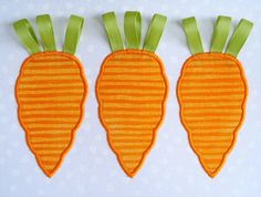 Carrots with Rick Rack Ribbon Tops Machine by DigitizedCreations