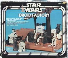 Kenner Star Wars Droid Factory One of the best playsets ever. You could build your own droids. Star Wars Droiden, Star Wars Toys, Jouet Star Wars, Figuras Star Wars, Starwars, Star Wars Merchandise, Childhood Toys, Childhood Memories, Retro Toys