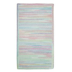 |++  Baby's Breath Lily Kids Rug Rug Size: Cross Sewn 5' x 8'