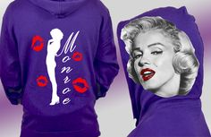 Our NEW One of a Kind Marilyn Monroe Clothing line features this classic image of Marilyn Monroe in High Resolution printed on both sides of the hood. The back of the Marilyn Monroe hoodie has a unique silhoutte of Marilyn Monroe and her replica lips.   FOUND HERE - http://www.whoodie.com/marilyn-monroe-clothing-classic-hoodie-p-276.html  #marilynmonroe #monroe #marilyn