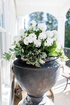 I put fake flowers outside. But can you tell? I dare you!   bluegraygal Artificial Flowers Outdoors, Outdoor Flowers, Fake Flowers, Artificial Plants, Diy Flowers, Flower Ideas, Flower Diy, Flower Designs, Potted Flowers