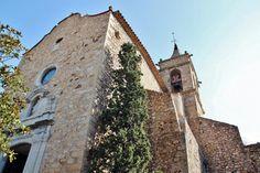 http://guias-viajar.com/ Iglesia de Castell de Aro en Baix Ampurdán en Costa Brava