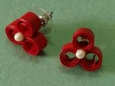 Quilling Earrings Stud | studs