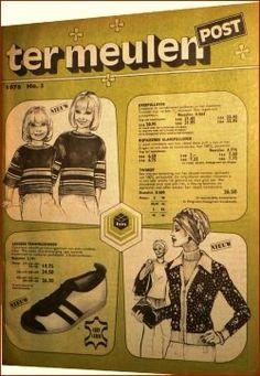 Ter Meulen Post, de postorder die je ook kon bezoeken in Rotterdam. Rotterdam, Memory Motel, Julien Clerc, Holland, Good Old Times, Old Advertisements, Do You Remember, Sweet Memories, My Memory
