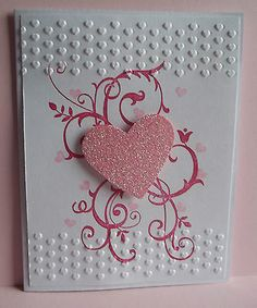 Stampin Up handmade greeting card love valentines day wedding anniversary PY LOT