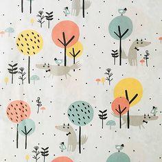 Vĺčkovia, 100 % bavlna Francúzsko, šírka 150 cm / Ihlicky - SAShE.sk - Handmade Textil Curtains, Shower, Prints, Handmade, Scrappy Quilts, Rain Shower Heads, Blinds, Hand Made, Showers