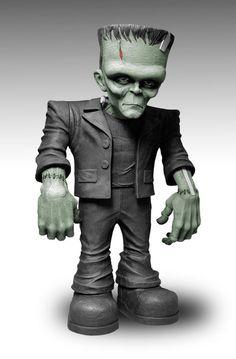 Figura de Frankenstein x Mezco.                                                                                                                                                                                 Más