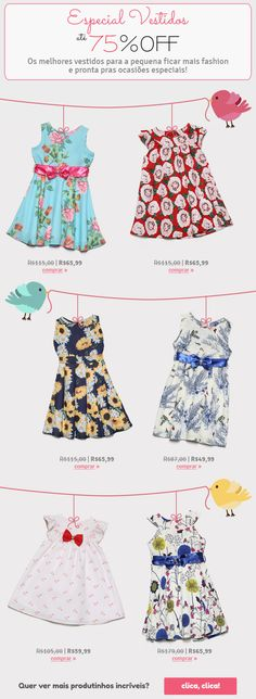 E-mail extra de Vestidos Banners, Nest, Presentation, Summer Dresses, Fashion, Vestidos, You Are Special, Summer Sundresses, Moda