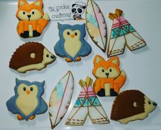 Orden de varias semanas atrás #inlove #mycookiecreations #animalcookies 🍪❤👌😅☺😍🐾
