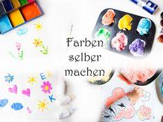 Malen mit Kindern: über 50 Ideen für jeden Tag — Mama Kreativ
