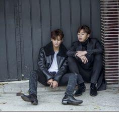 Park Seo Joon and Park Hyung Sik - Hwarang Actors Male, Asian Actors, Korean Actors, Park Seo Joon Hwarang, Park Seo Jun, Park Hyung Sik Hwarang, Park Hyung Shik, Drama Korea, Korean Drama