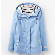 Joules Coast Waterproof Solid Hooded Jacket