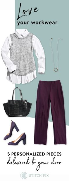 This is the go-to personal styling service for the busy woman on the go. Every Fix is tailored to your taste, budget and lifestyle so you can look and feel your best each day. Our Stylists curate 5 pieces for you to try on at home. Keep what you love, send back the rest and give feedback, so your Stitch Fix box keeps getting better and better.