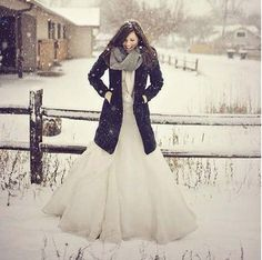 Winter Wedding - Maybe go where there's snow ?