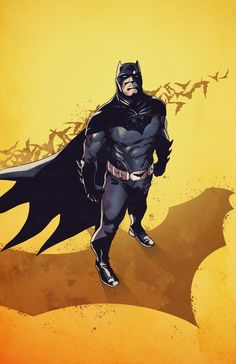 Batman - #batman #darkknight #comics #artwork #drawing #drawer #artist #creation #creative #artbook #thedarkknight #tribute #cover #book #inking #pencils #gotham #gothamcity #sketch #characters #dccomics #sketching #comicbook #art #illustration #coverart #coverartist #watercolor