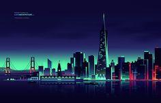 Tallest Skyscrapers Illustrated by Romain Trystram | Abduzeedo Design Inspiration