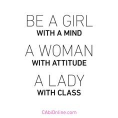 #CAbi - Because a CAbi Girl represents all of this! Share this quote with them.  #quotes #inspiration