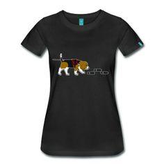 Mantrailing Beagle T-Shirt | Spreadshirt | ID: 20309603