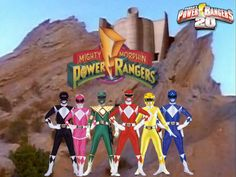 Power Rangers 20- Mighty Morphin 1 by ThePeoplesLima on DeviantArt