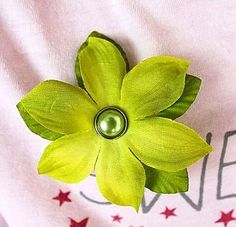 Petaloo flowers are perfect for making PINS!  Pick any color of our Floradoodle flowers, add a brad to the center and a pin to the back...voila ...so easy!  Directions on the BLOG.