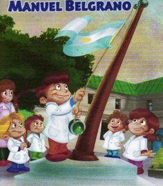 "Pasitos de Colores: 20 DE JUNIO""DÍA DE LA BANDERA ARGENTINA"" Smurfs, Poetry, Painting, Fictional Characters, Blog, Scouts, Gardens, Frases, Declaration Of Independence"