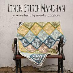 Linen Stitch Manghan Crochet Free Pattern