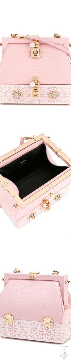 bc3c769f02b6 DOLCE  amp  GABBANA Dolce crossbody Bag  dolceandgabbana Pink Handbags