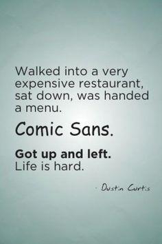 comic sans lol