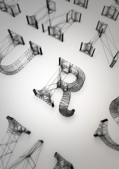 Wire by Dan Hoopert, via Behance