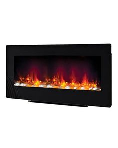 Be-Modern-Amari-38-2kW-Black-Glass-Remote-Control-Electric-Fire-148768 Modern Electric Fires, Inset Electric Fires, Wall Mounted Electric Fires, Triple Wardrobe, Wall Fires, Eye For Detail, Black Walls, Floor Space, Remote
