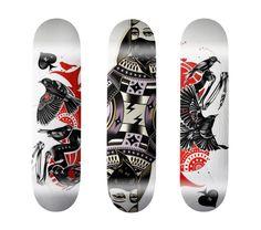 100 Crazy Skateboard Designs   Abduzeedo   Graphic Design Inspiration and Photoshop Tutorials
