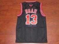 Chicago Bulls NBA Shirt #13 Joakim Noah Black Jersey [F221]
