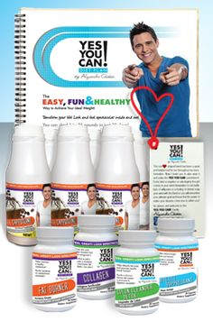 Yes You Can! Diet Plan Starter Kit.  The first diet plan specificly designed for Latinos to help them lose weight fast and easy