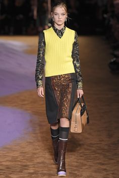 Prada RTW Spring 2015 [Photo by Giovanni Giannoni]