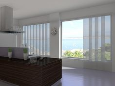 Sliding Panels are an ideal alternative to traditional vertical blinds.  #slidingpanels