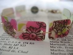 Repurposing used gift cards -- see post also for guitar picks, notepads & mosaics