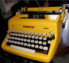 Typewriters in a New Hue