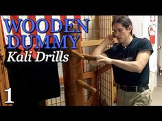 KALI STEALS Wing Chun WOODEN DUMMY for Drills - GREAT!