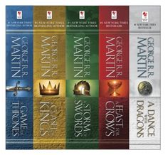 George R. R. Martin's A Game of Thrones 5-Book Boxed Set (Song of Ice and Fire Series): A Game of Thrones, A Clash of Kings, A Storm of Swords, A Feast for Crows, and A Dance with Dragons by George R.R. Martin, http://smile.amazon.com/dp/B00957T6X6/ref=cm_sw_r_pi_dp_RUmwvb1EWWVP5
