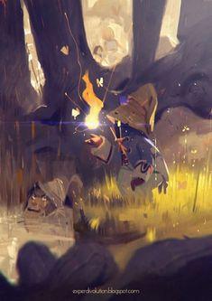 Art by Alexandre Diboine a.k.a. Zedig - Blog/Website | (http://alexandrediboine.tumblr.com/) - Final Fantasy IX