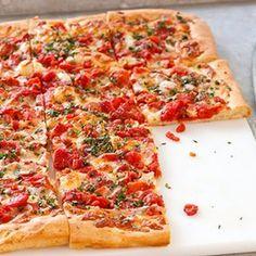 Grandma Pizza Recipe | Key Ingredient