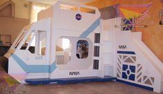 KIDSWORLD.2000@YAHOO.COM.MX, TEL 01 442 690 48 41, VIAJANDO AL ESPACIO A LA VELOCIDAD DE LA LUZ, ÚNICA Y FANTÁSTICA LITERA-NAVE DE LA NASA, CON CABINA QUE LLEVA TABLERO SIMULADO CON LUCES Y SONIDOS Y DOS DIVERTIDOS BANQUITOS PARA JUGAR Y JUGAR TANTAS HORAS COMO LA IMAGINACIÓN LO PERMITA Y MANDARLOS A DORMIR YA NO SERA UN PROBLEMA VERDAD?