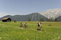 Je vindt tal van mountainbike routes op Sonnenplateau Miemingen!