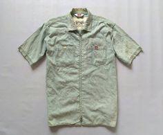 "10 Likes, 2 Comments - streetwear casual outdoor etc (@fitrahsquad__) on Instagram: "". • BEN DAVIS zipp work denim ------------------------------------------------ •Size: M •panjang:…"""